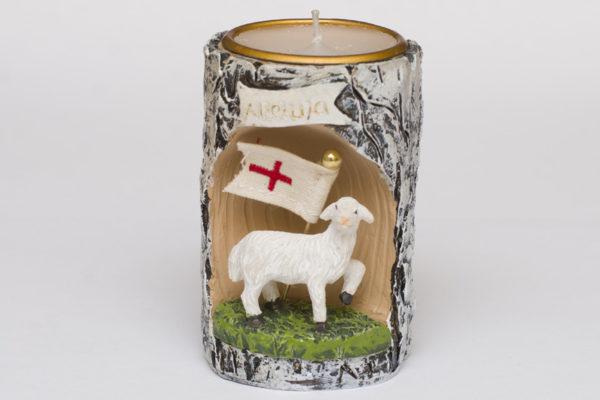 Świecznik Wielkanoc Baranek