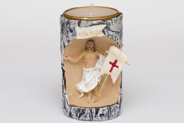 Świecznik Wielkanoc Pan Jezus