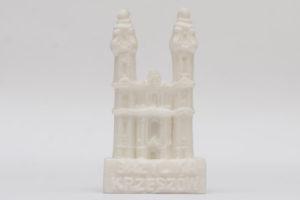 Bazylika w Krzeszowie magnes z alabastru
